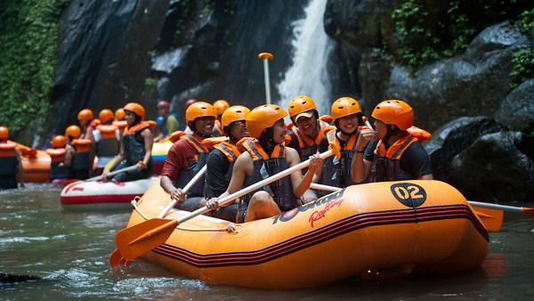 White Water Rafting Bali - Ayung River 4