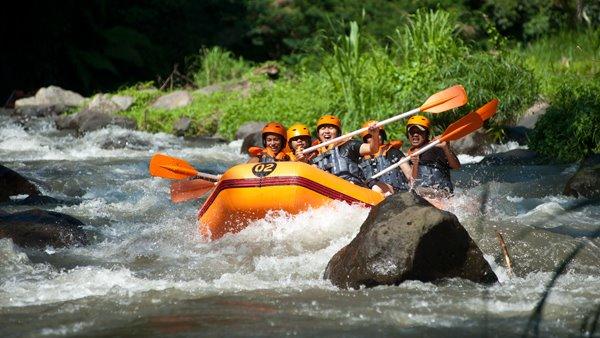 White Water Rafting Bali - Ayung River 5