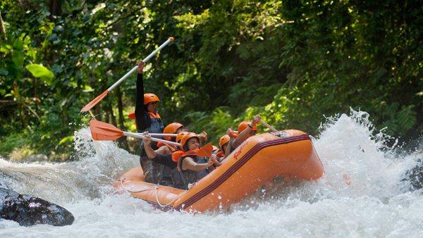 White Water Rafting Bali - Ayung River 7
