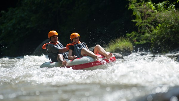 Bali Tubing Adventure - Ayung River 6