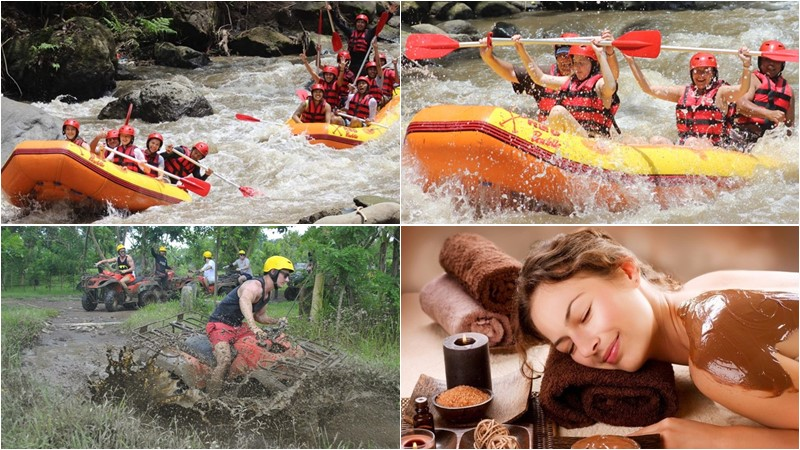 BCD-101: Rafting + Atv + Spa 2