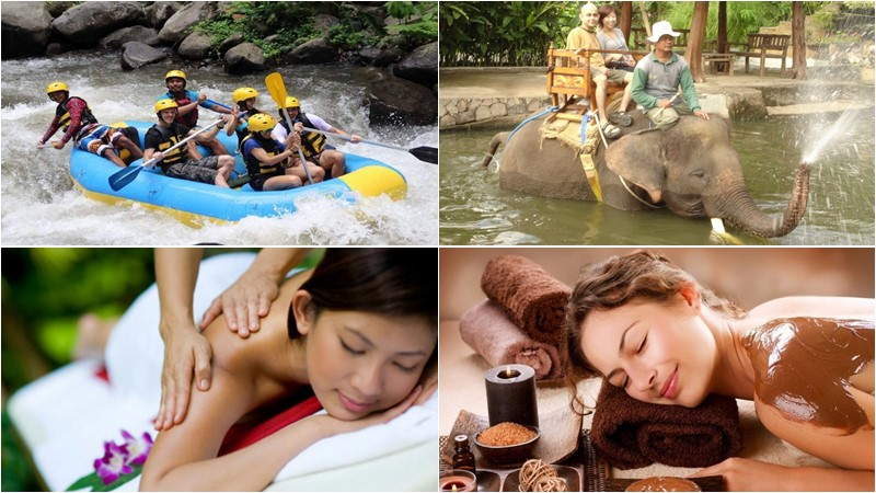 BCD-102: Rafting + Elephant Ride + Spa 19