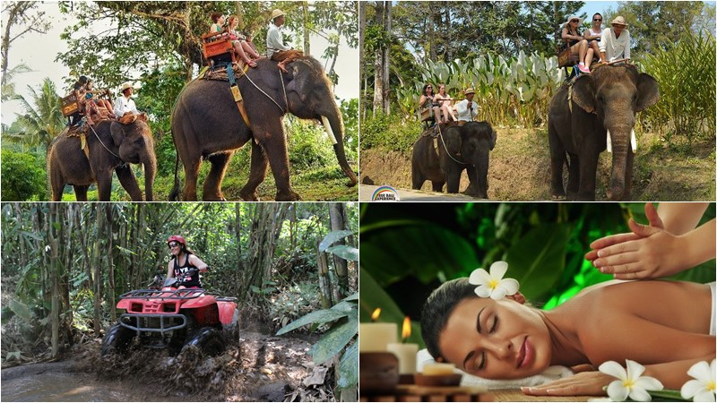 BCD-103: Atv ride + Elephant Ride + Spa 2