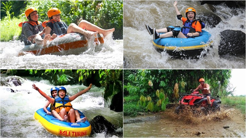 BCD-104: River Tubing + Atv Ride Bali Tour 15