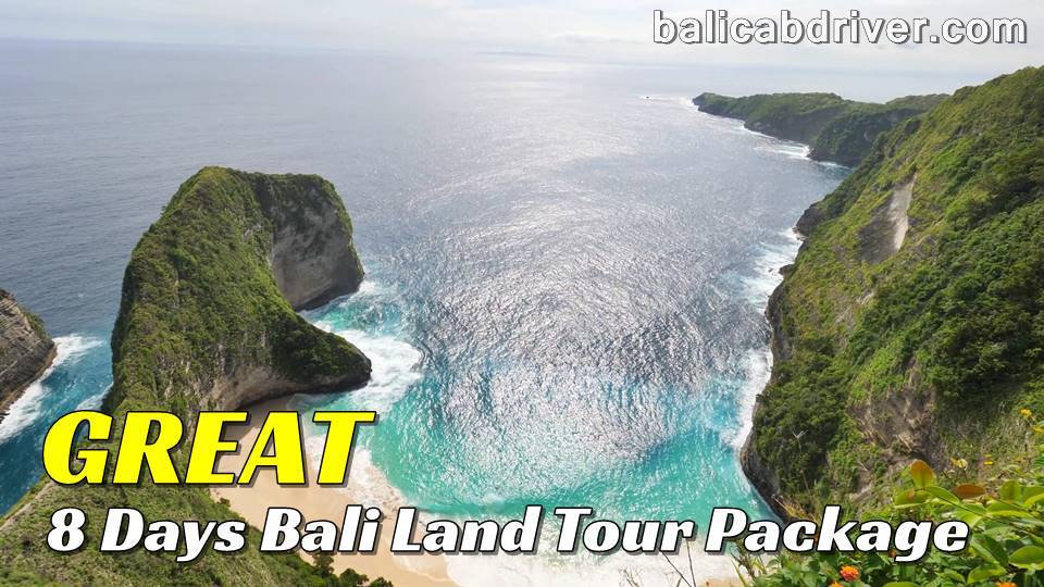 Great 8 Days Bali Land Tour Package 1