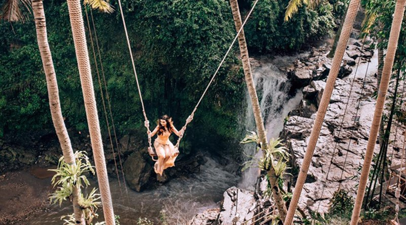 A Day Tour Combination to Bali Swing Accompanied by Our English Bali Driver-Guide. 14