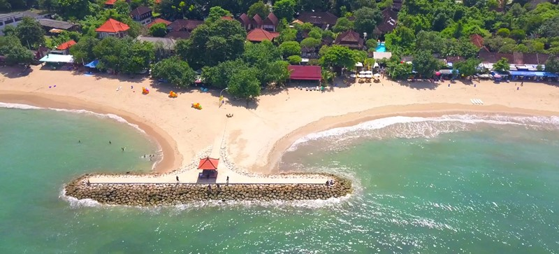 Spend a Lazy Day at Sanur Beach with Bali Best Driver 4